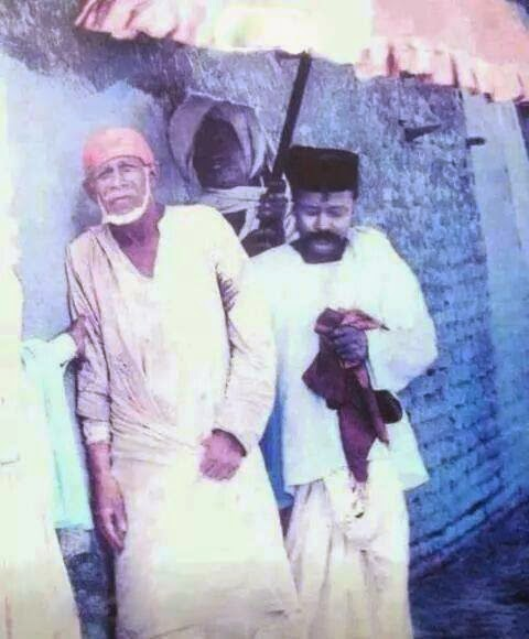 Shirdi Sai Baba walking