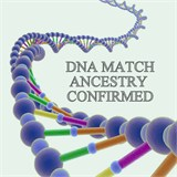 DNA Match Ancestry Confirmed ICON