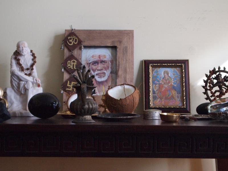 Baba's Altar in my healing room