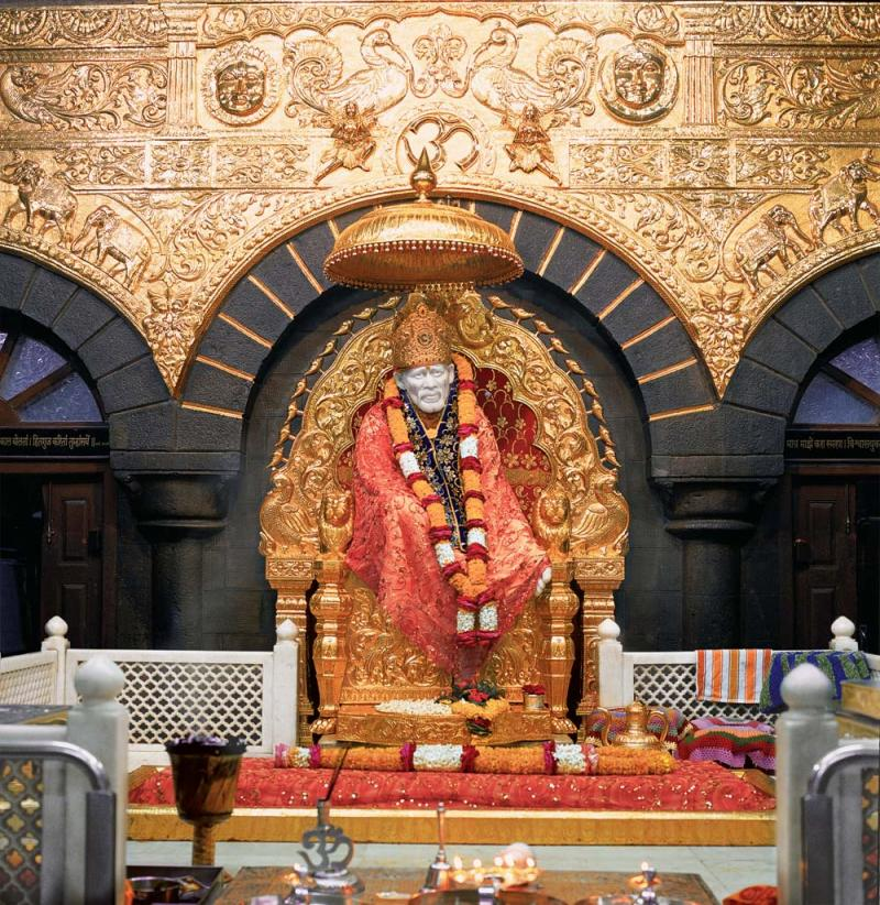 Shirdi Sai Baba Samadhi in Shirdi